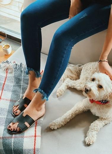Arma Shoes Kadın Home&Away Terlik Siyah